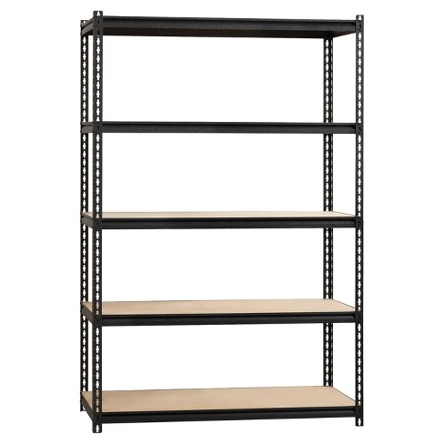 "Iron Horse Riveted Shelving 5 Shelf 2300 LB 72""H x 48""W x 24""D - image 1 of 5"