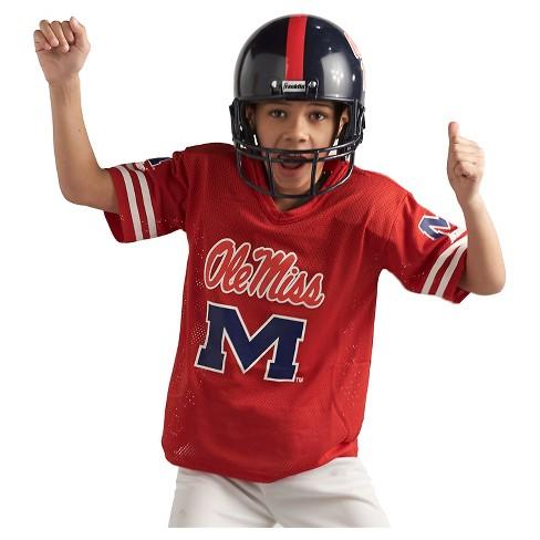 Franklin Sports Team Licensed Ole Miss Rebels Deluxe Football Uniform Set    Target 3bc06a2e3
