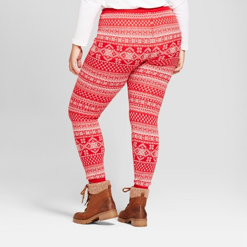 Womens Plus Size Sweater Leggings Mossimo Supply Co Target