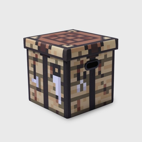 Minecraft Crafting Table Block Storage Bin Tan Target