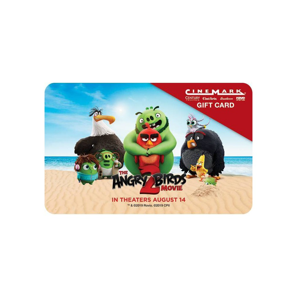 Cinemark Theatres $50 (Email Delivery) Cinemark Gift Cards can be redeemed online at cinemark website, on mobile app, or at local theatre for tickets and concessions.