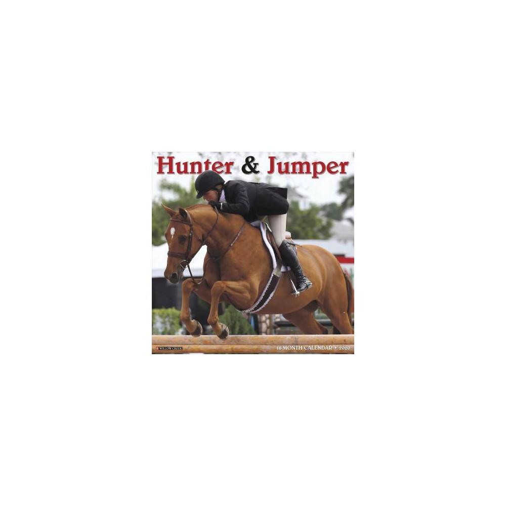 Hunter & Jumper 2020 Calendar - (Paperback)
