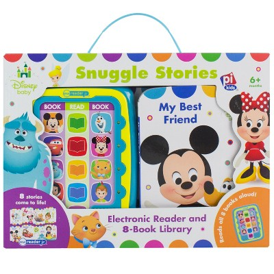 Disney Baby Electronic Me Reader Junior 8-book Boxed Set