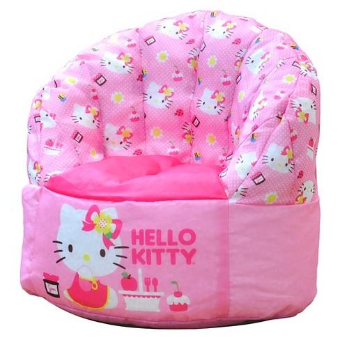 Hello Kitty Toddler Bean Bag Chair Pink Sanrio Target