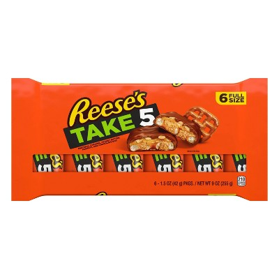 Reese's Take 5 Full Size Multipack - 9oz/6ct