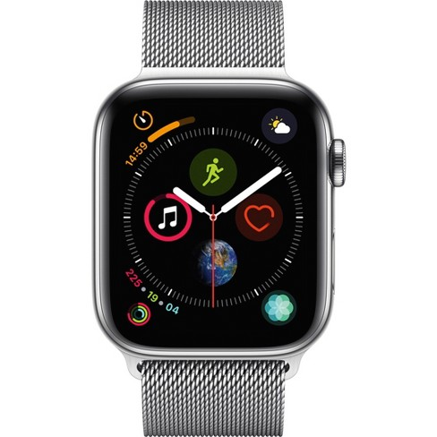 Apple Watch Series 4 Gps Cellular 44mm Stainless Steel Case With
