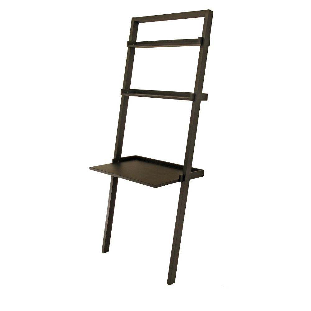 Ladder Desk Winsome Black
