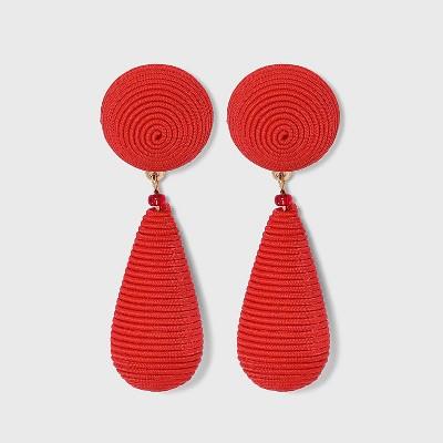 SUGARFIX by BaubleBar Monochrome Bead Drop Earrings