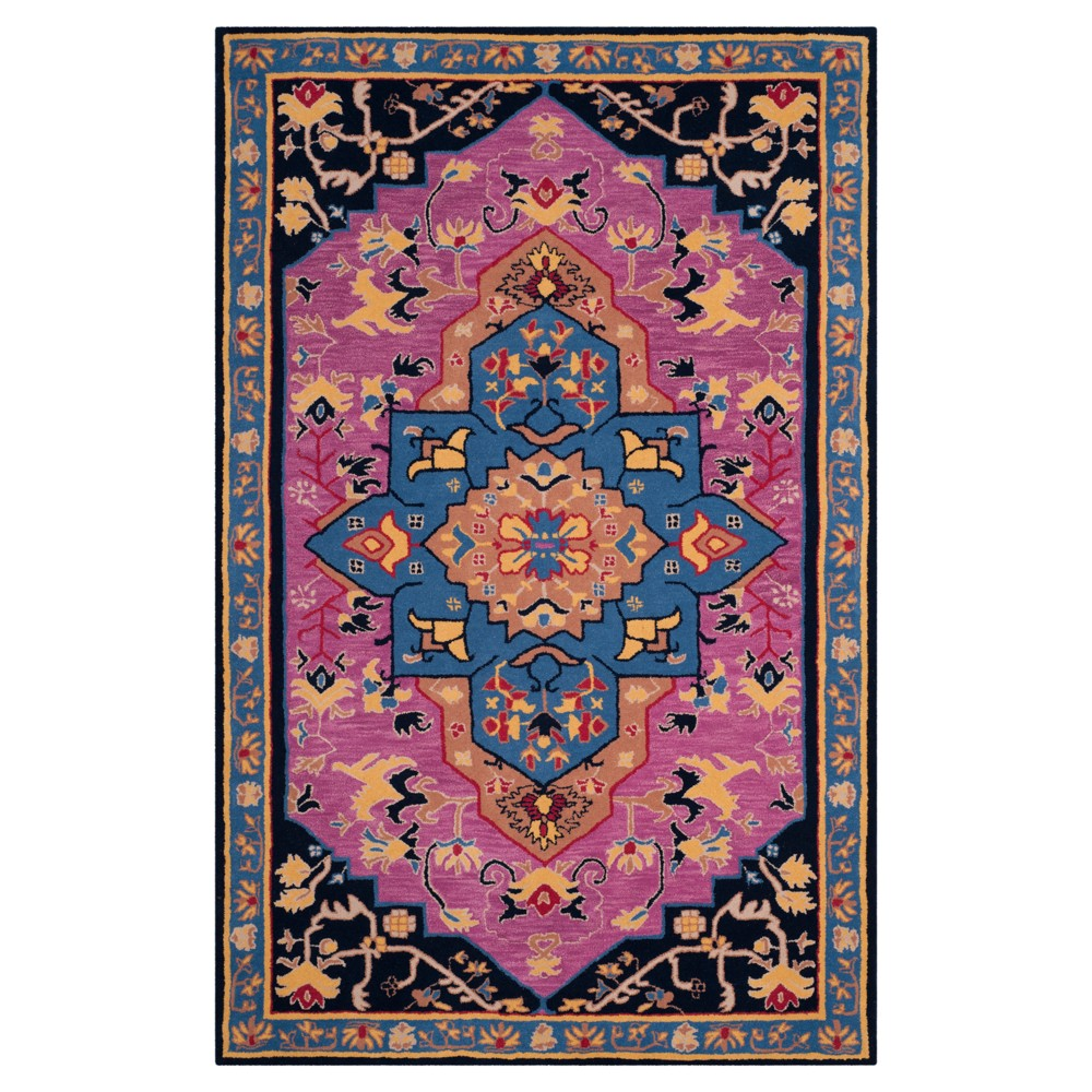 Floral Tufted Area Rug 6'X9' - Safavieh, Pink/Multi