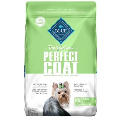 Blue Buffalo True Solutions Perfect Coat Skin and Coat Care Adult Dry Dog Food