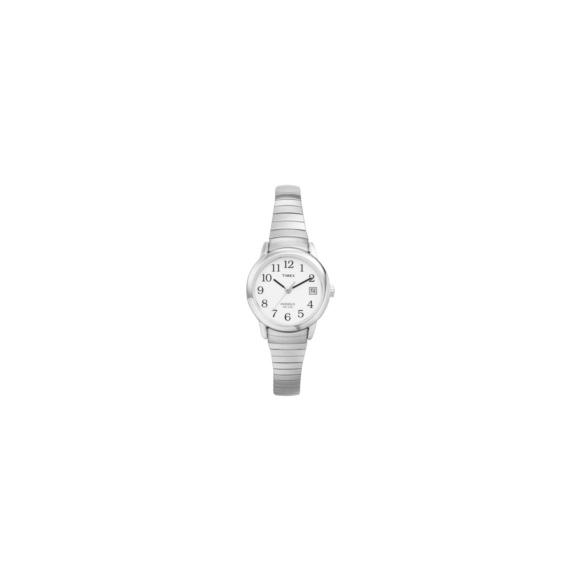 Women's Timex Easy Reader Expansion Band Watch - Silver T2H371JT, Size: Small
