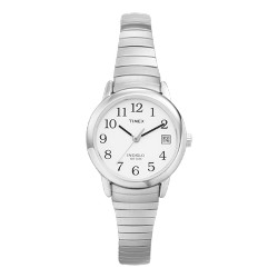 Women's Timex Easy Reader Expansion Band Watch - Silver T2H371JT