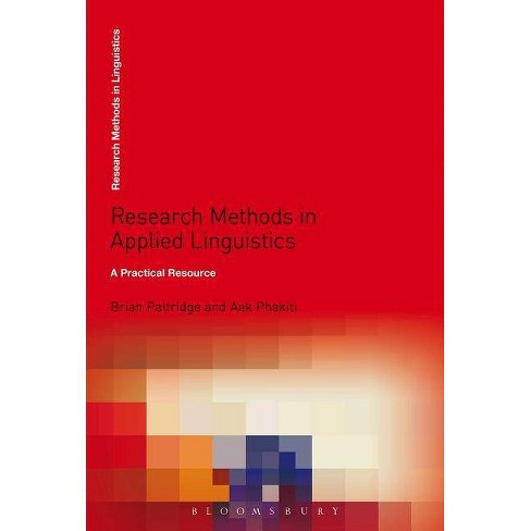 Research Methods in Applied Linguistics - (Research Methods in Linguistics) 2 Edition (Paperback) - image 1 of 1