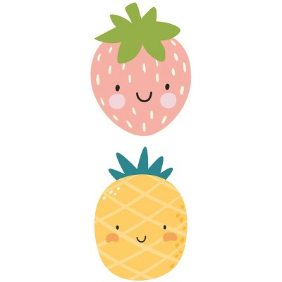 Strawberry and Pineapple Placemat Set of 2 - A & A Story