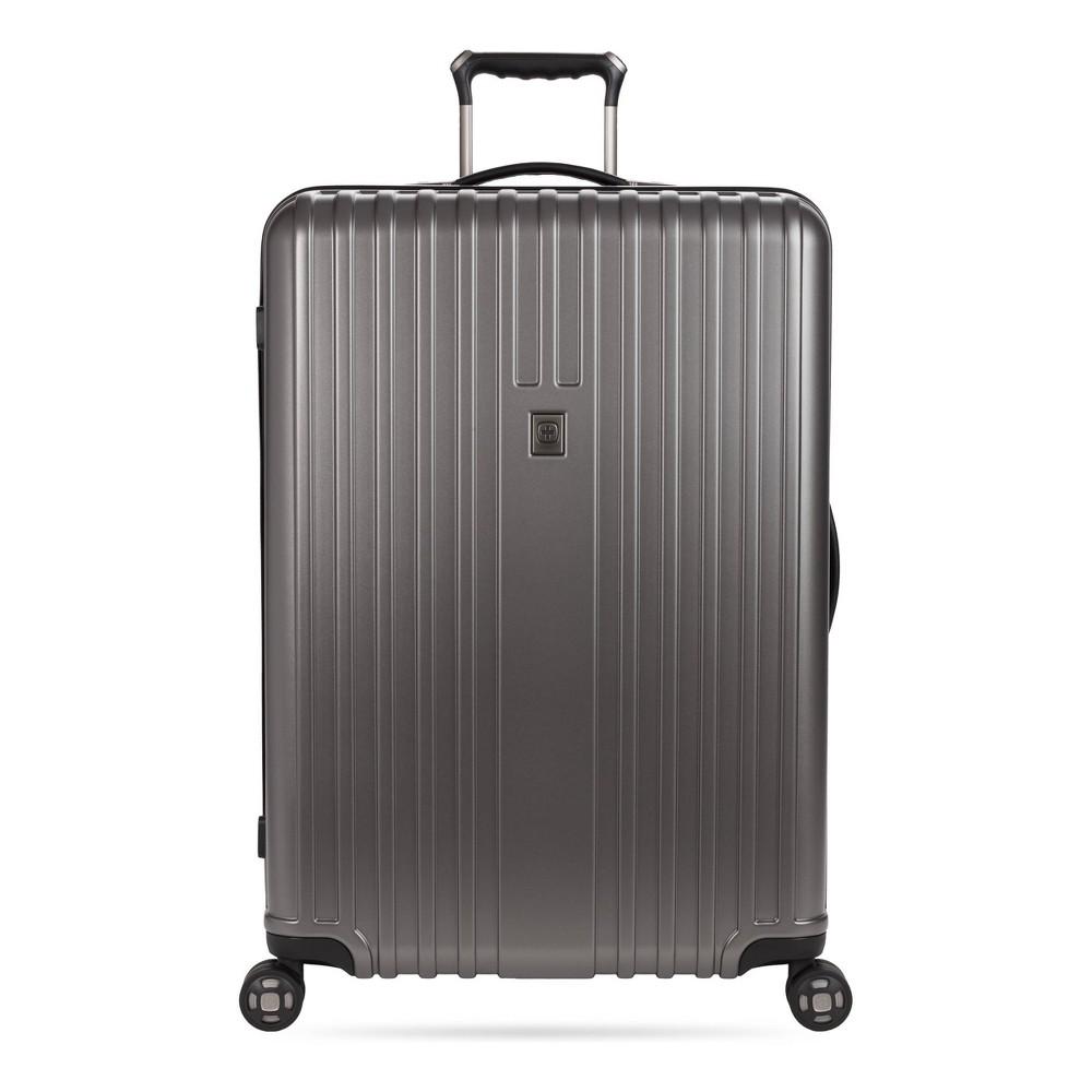 Swissgear 28 34 Hardside Suitcase Gun Metal