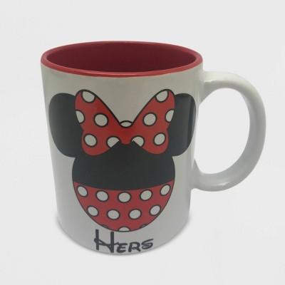 Disney Minnie Mouse 11oz Ceramic Hers Mug