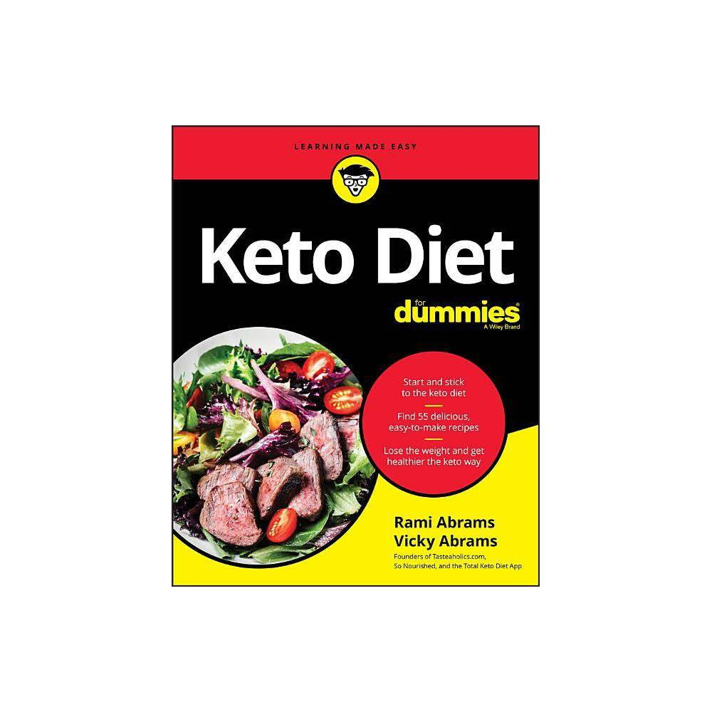 Keto Diet for Dummies - by Rami Abrams & Vicky Abrams (Paperback)