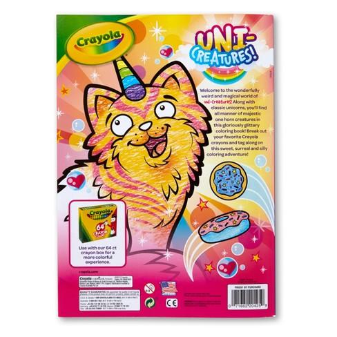 Uni-Creature Coloring Book Crayola : Target