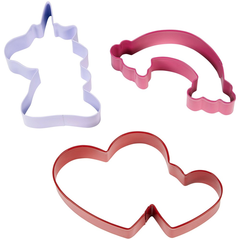 Image of Wilton 3pc Metal Magical Assorted Cookie Cutter Set