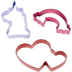 Wilton 3pc Metal Magical Assorted Cookie Cutter Set