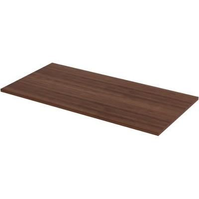 "Lorell Tabletop Height-Adjustable 60""x30""x1"" Walnut 16242"
