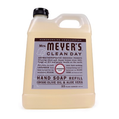 Mrs. Meyer's® Lavender Liquid Hand Soap Refill - 33 fl oz
