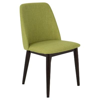 Tintori Mid Century Modern Dining Chair (Set Of 2)   Green   LumiSource :  Target