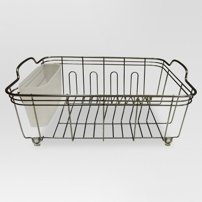Kitchen Storage Racks, Holders and Dispensers (Steel, with Brushed Nickel Finish)- Threshold™