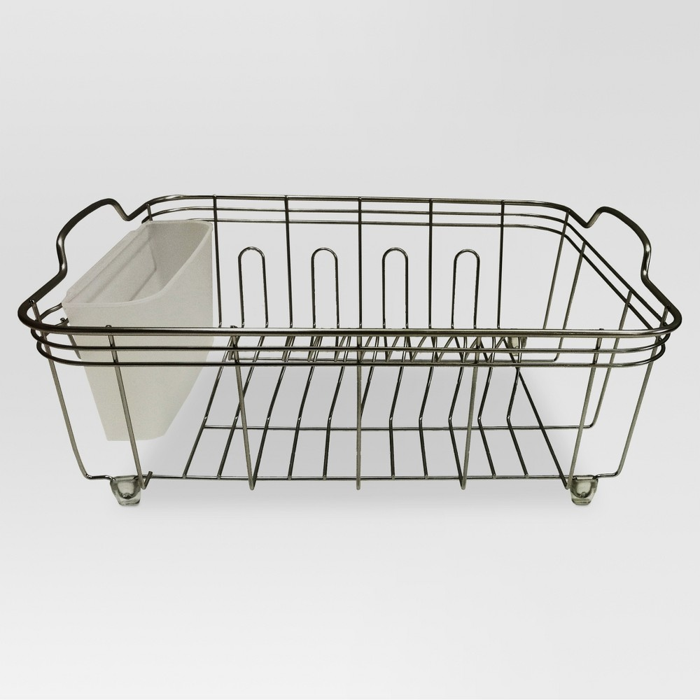 Kitchen Storage Racks, Holders and Dispensers (Steel, with Brushed Nickel Finish) - Threshold