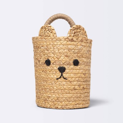 Small Hanging Bear Basket with One Handle - Cloud Island™