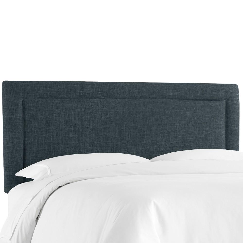 Border Headboard - Navy - Queen - Skyline Furniture Buy