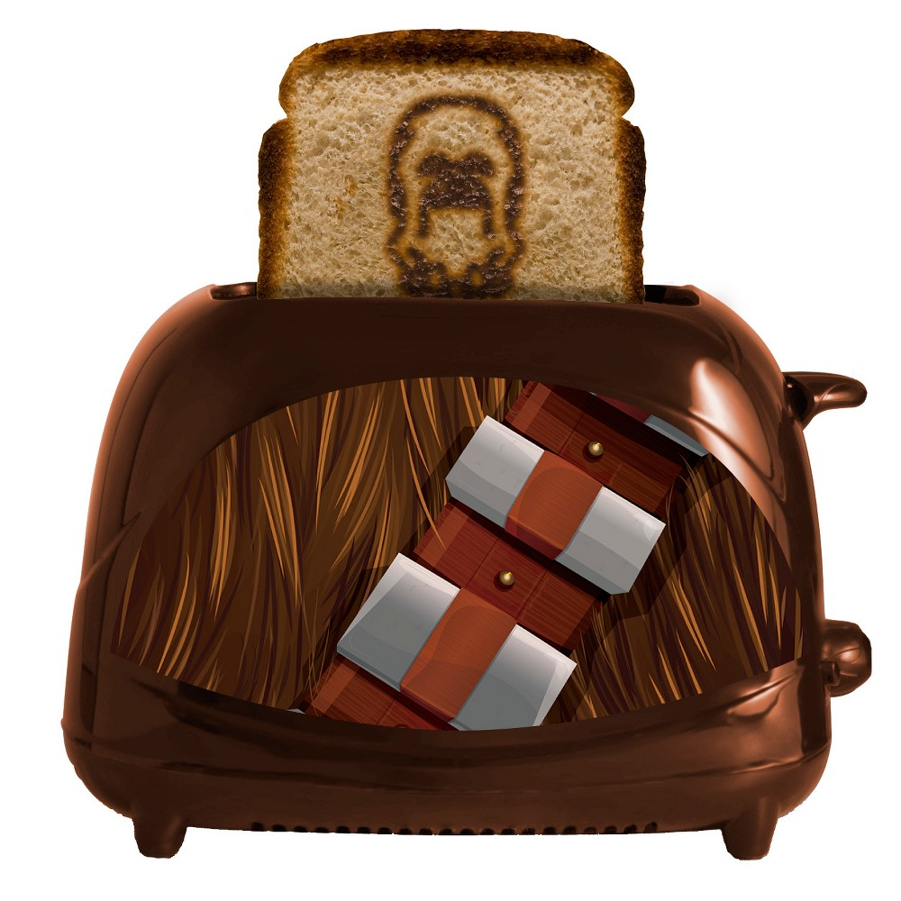 Star Wars Chewbacca Toaster, Brown 54252560