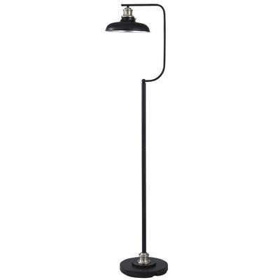 Arvin Floor Lamp Black  - StyleCraft