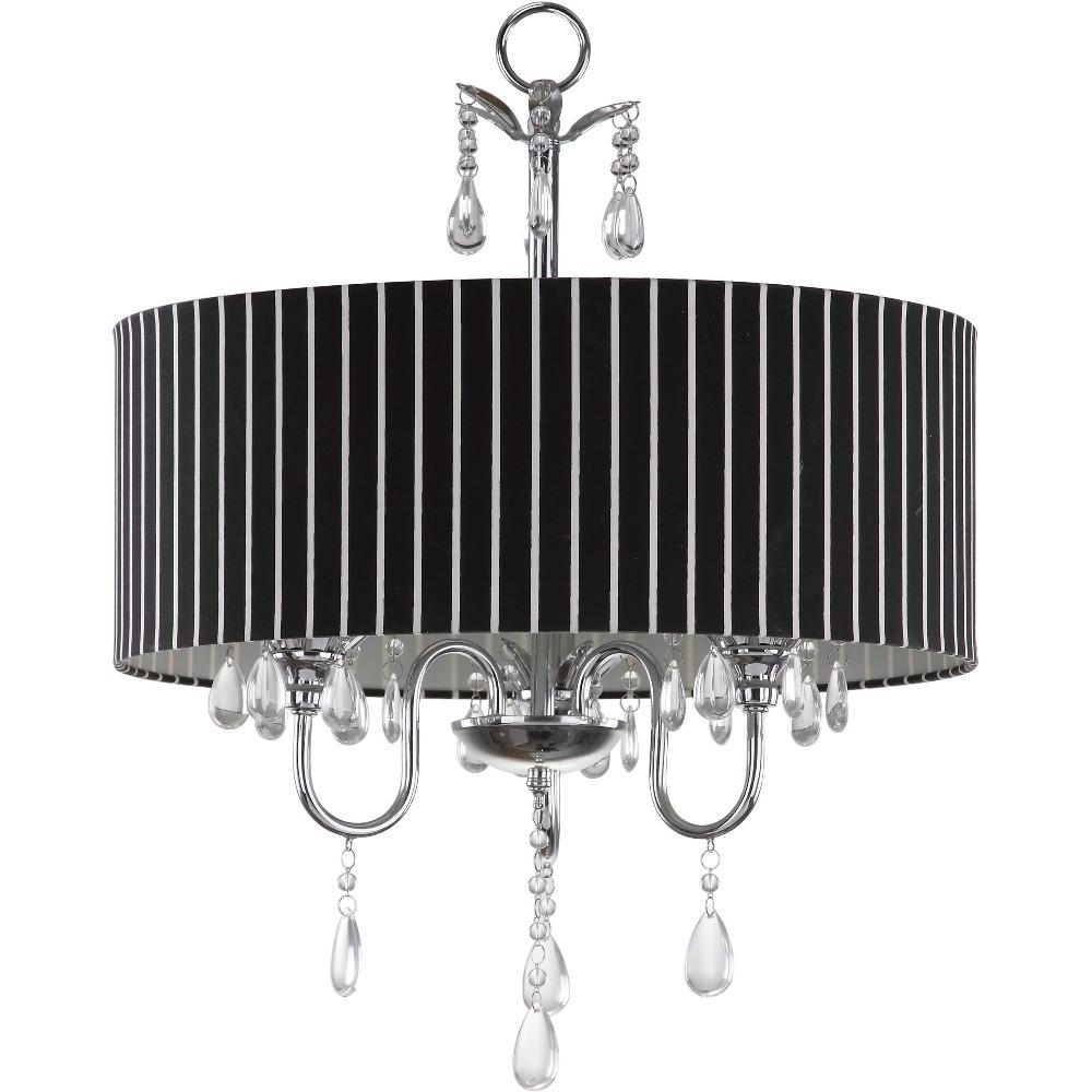 Abbeville Chandelier Ceiling Light - Silver - Safavieh