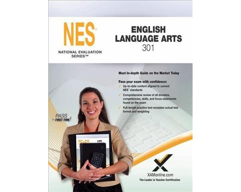 NES English Language Arts 301 : Teacher Certification Exam (Paperback) (Sharon A. Wynne) - image 1 of 1