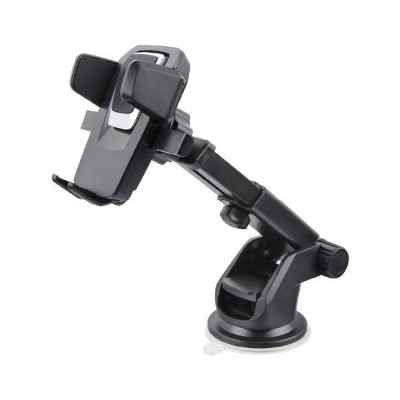 Car Mount Holder, by Valor 360 degree Rotation Phone Retractable Car Holder For Cell Phone iPhone - Black