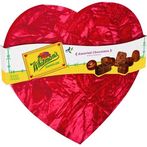 Whitman's Valentine's Assorted Chocolates Red Velvet Heart - 22oz - image 1 of 2