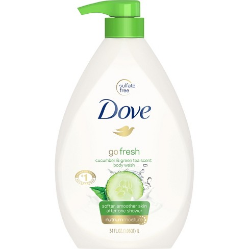 Dove go fresh Cucumber and Green Tea Body Wash - 34 fl oz - image 1 of 6
