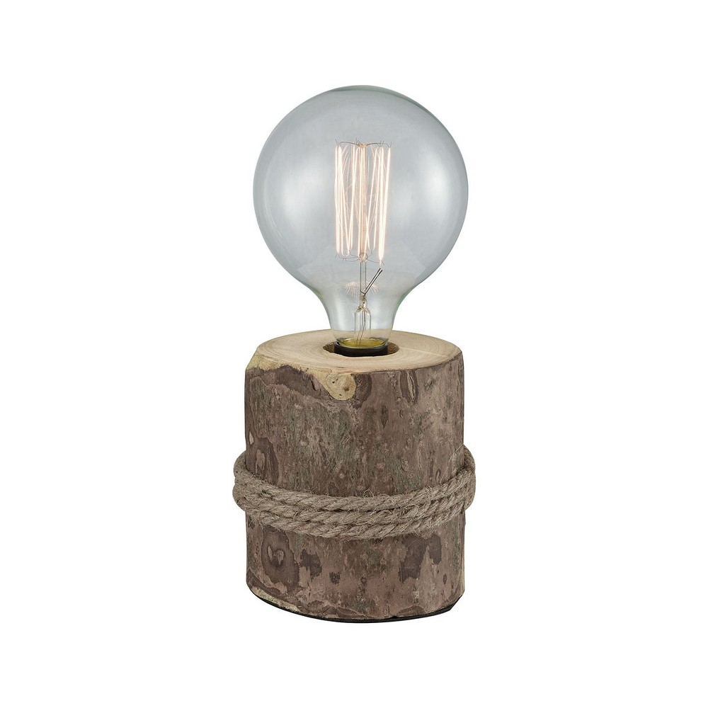 Image of Beachfront Table Lamp Brown (Includes Energy Efficient Light Bulb) - Pomeroy