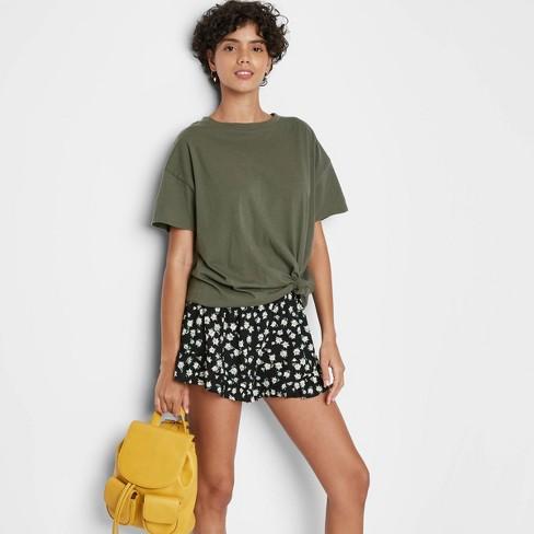 Short Sleeve Oversized T-Shirt - Wild Fable™ - image 1 of 3