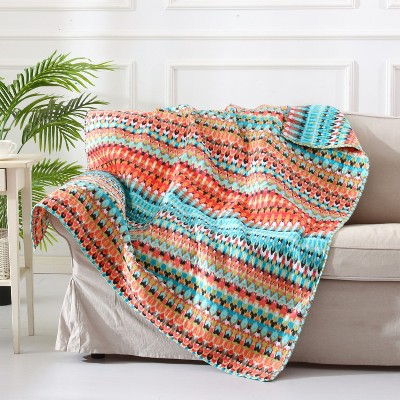 Corona Bohemian Quilted Throw - Levtex Home