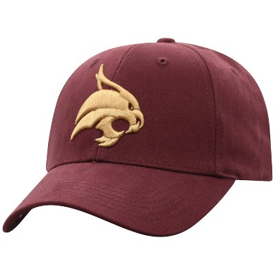 NCAA Texas State Bobcats Men's Structured Brushed Cotton Hat