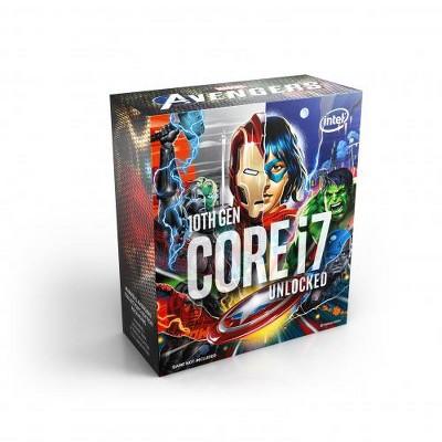 Intel Core i7-10700K Desktop Processor featuring Marvel's Avengers Collector's Edition