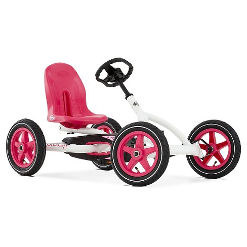 Berg Buddy White Pedal Kart - image 1 of 4