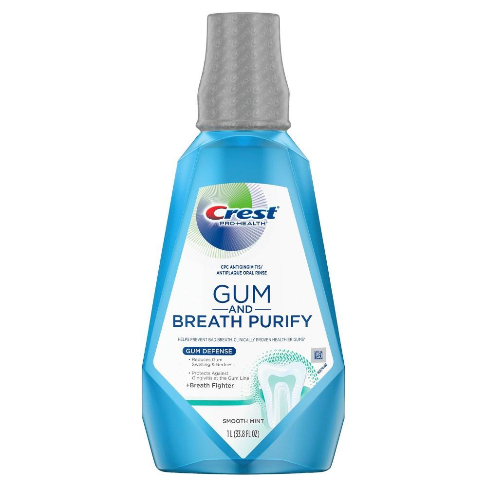 Image of Crest Pro-Health Gum & Breath Purify Rinse - 33.8 fl oz