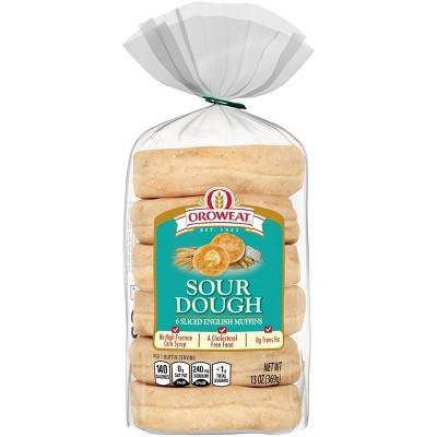 Oroweat Sourdough English Muffins - 13oz