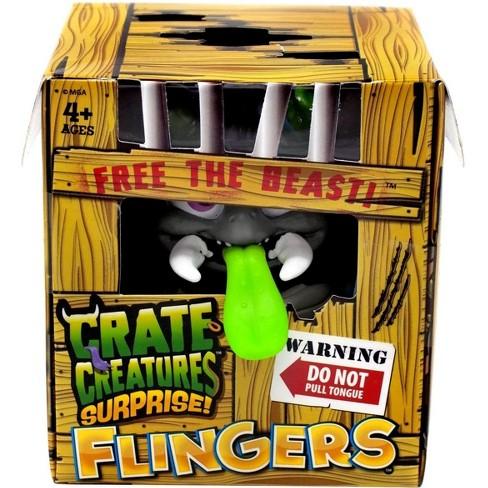 Crate Creatures Surprise! Flingers Peskk Figure - image 1 of 1