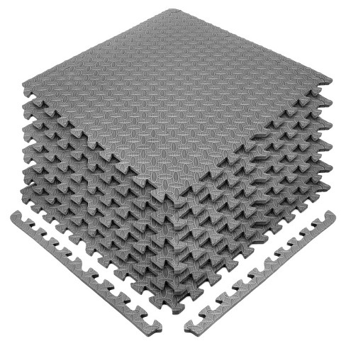 Mat Eva Foam Interlocking Puzzle Exercise Tiles High Quality Floor Gym 1//2-Inch