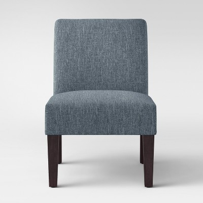 Quincy Basic Slipper Chair Blue - Threshold™