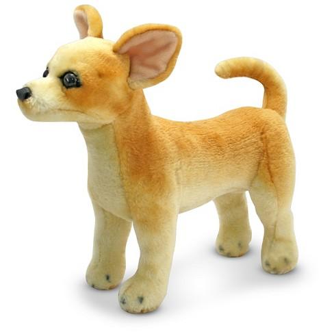 Melissa Doug Chihuahua Dog Lifelike Stuffed Animal Target